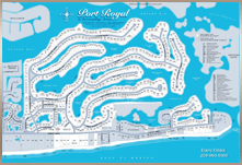 Port Royal Map