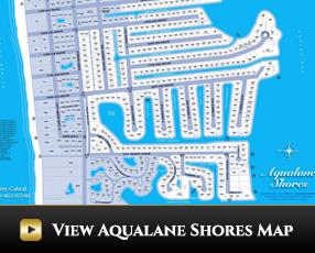 Aqualane Shores Community Map
